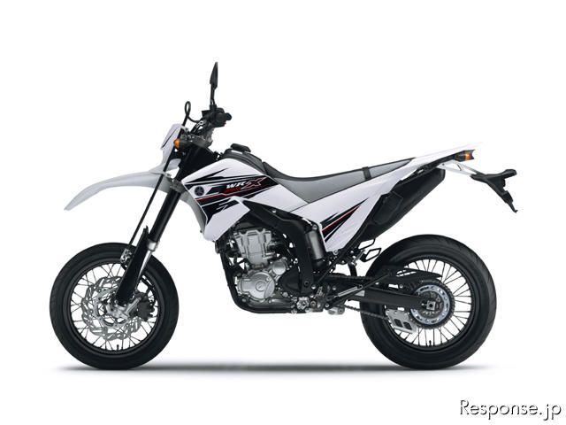 WR250X パープリッシュホワイトソリッド1