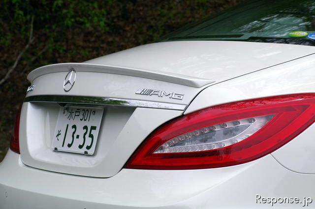 CLS 63 AMG《撮影 北島友和》