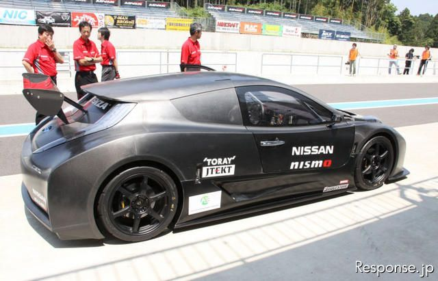 EVレーシングカー「リーフ NISMO RC」《撮影 中尾真二》