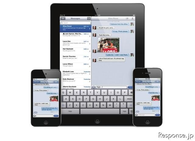 iOS 5(iMessage)