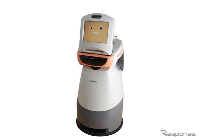 コミュニケーション支援ロボット「HOSPI-Rimo(Remote Intelligence and Mobility)」