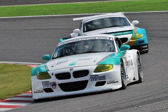 ST-1クラスのPETRONAS SYNTIUM BMW Z4M COUPE。MOBILITYLAND