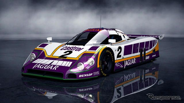 ジャガー XJR-9 LM レースカー(c) Sony Computer Entertainment Inc. Manufacturers, cars, names, brands and associated imagery featured in this game in some cases include trademarks and/or copyrighted materials of their respective owners. All rights reserved. Any depi