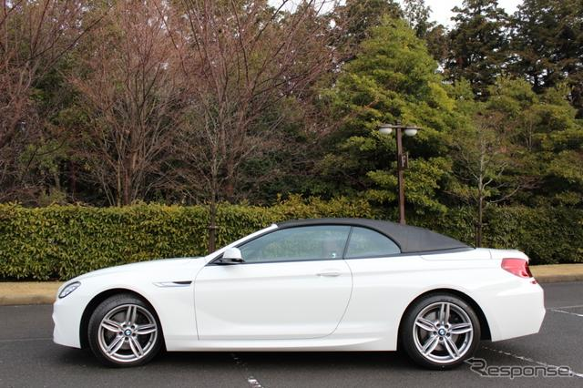 BMW650iカブリオレ《撮影 内田俊一》
