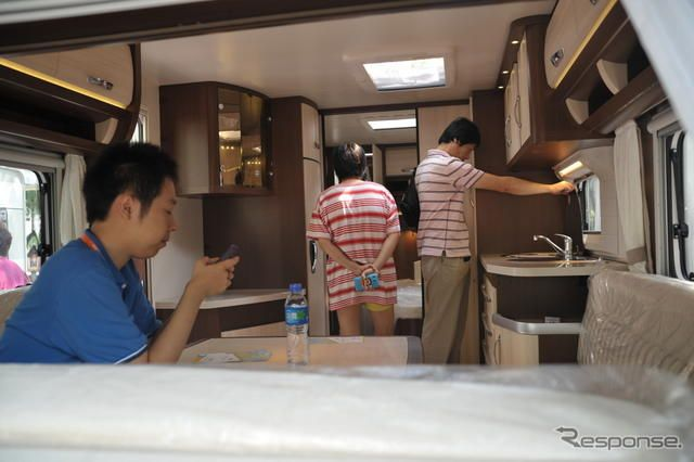 All in CARAVANING 2012《撮影:山本一雄》