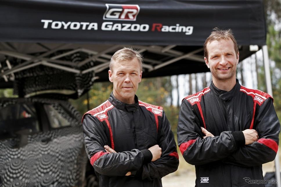 WRC】トヨタ、ユホ・ハンニネン...