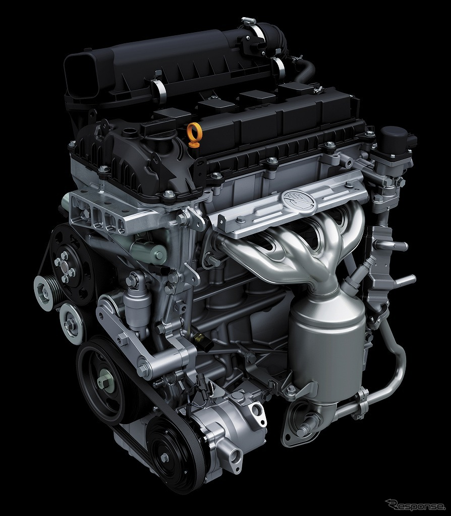 K12C型デュアルジェット エンジン