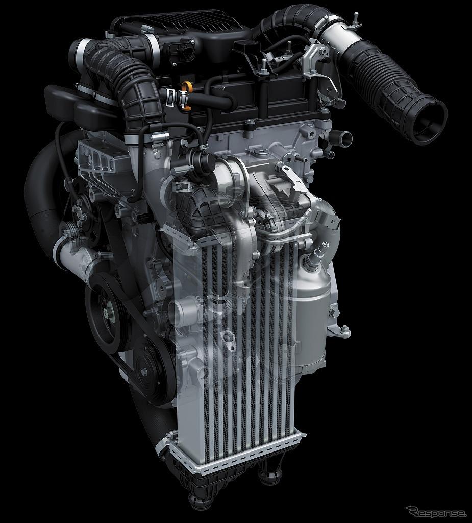 K10C型ブースタージェット エンジン