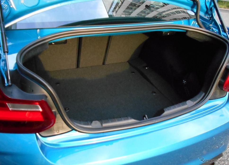 BMW M2クーペ《撮影 岩貞るみこ》