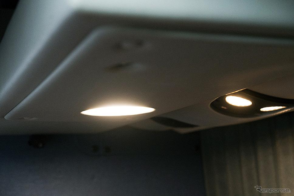 室内照明(両備ホールディングス/関東バス)