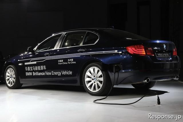 BMW Brilliance New Energy Vehicle(上海モーターショー11)