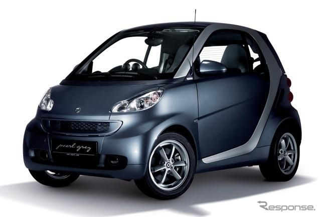 smart fortwo edition pearlgrey