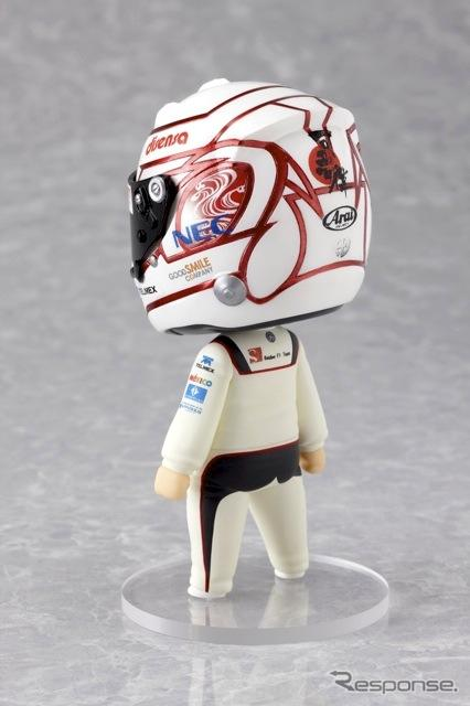 ねんどろいど小林可夢偉がんばれ日本Ver. Copyright 2011-2012 by Sauber Motorsport AG. Licensed through: Global Sport IP GmbH, Munich - All rights reserved -