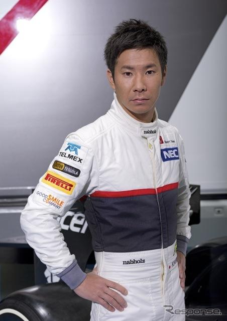 小林可夢偉(ザウバー)Copyright 2011-2012 by Sauber Motorsport AG. Licensed through: Global Sport IP GmbH, Munich - All rights reserved -