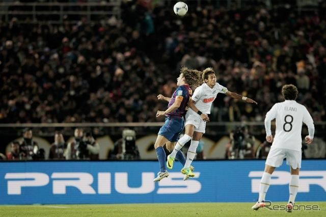 2011年12月、FIFAクラブワールドカップ(Photo by Getty Images for TOYOTA)