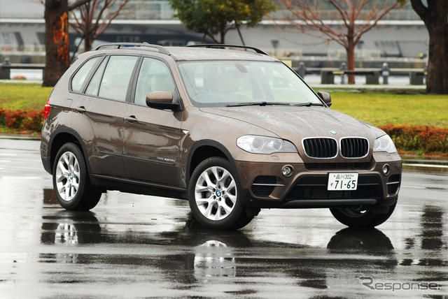 BMW X5 xDrive36d BluePerformance《撮影 太宰吉崇》