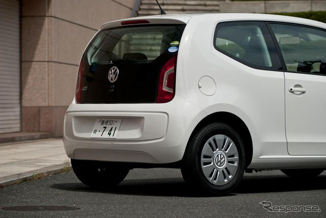 VW up!(アップ!)2ドアモデル:「move up!」《撮影 太宰吉崇》