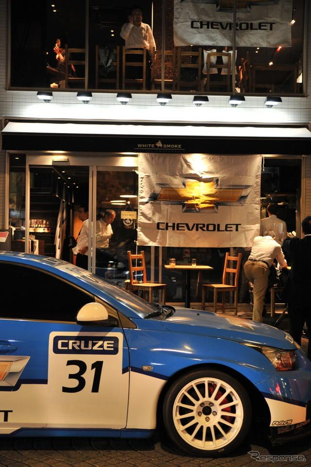 Chevrolet Speed Nite with WTCC Drivers in Tokyo《撮影 山本一雄》