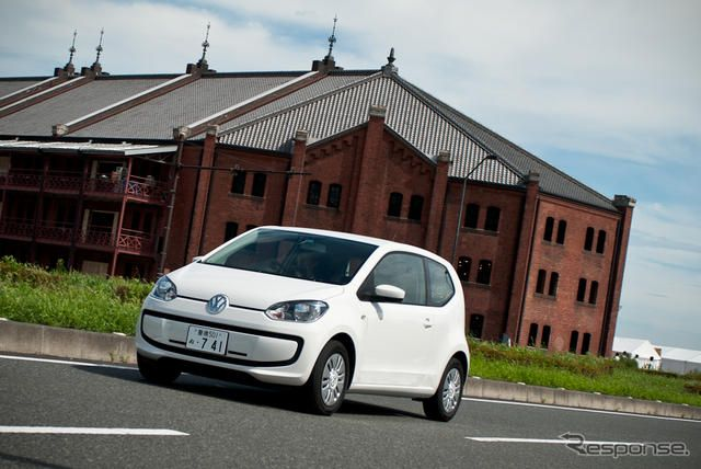 VW up! (move up! 2ドア)《撮影 太宰吉崇》