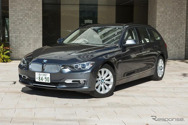BMW 320d BluePerformance《撮影 雪岡直樹》