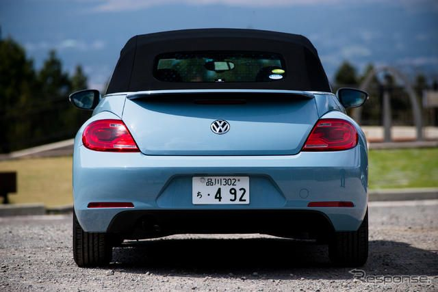 VW ザ・ビートル カブリオレ《撮影 太宰吉崇》