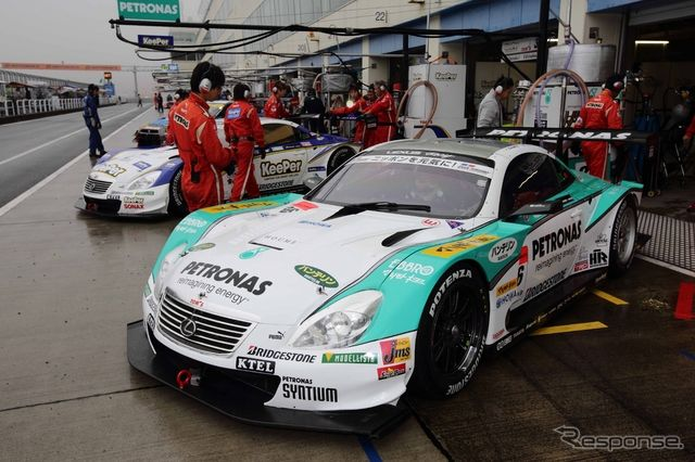 優勝の#36 PETRONAS TOM'S SC430。写真:TOYOTA