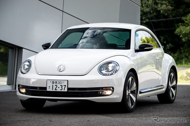 VW ザ・ビートル・ターボ《撮影 太宰吉崇》