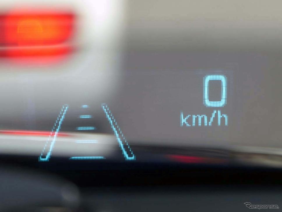 従来の「アクティブドライビングディスプレイ」はモノクロで、一度に表示できる情報が少なかった