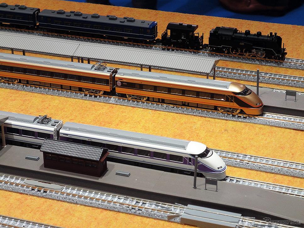 東武鉄道ブース(ツーリズムEXPOジャパン、2016年9月22〜25日)《撮影 大野雅人(Gazin Airlines)》