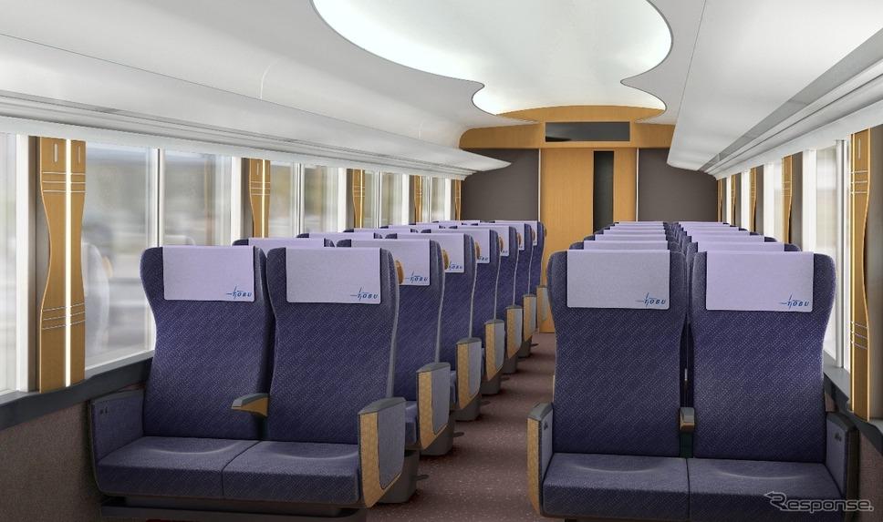 「リバティ」インテリア《提供 東武鉄道》