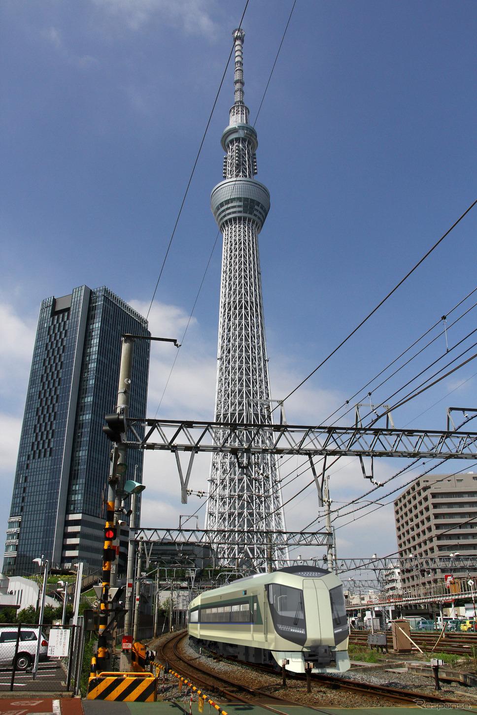 「リバティ」運行イメージ《提供 東武鉄道》