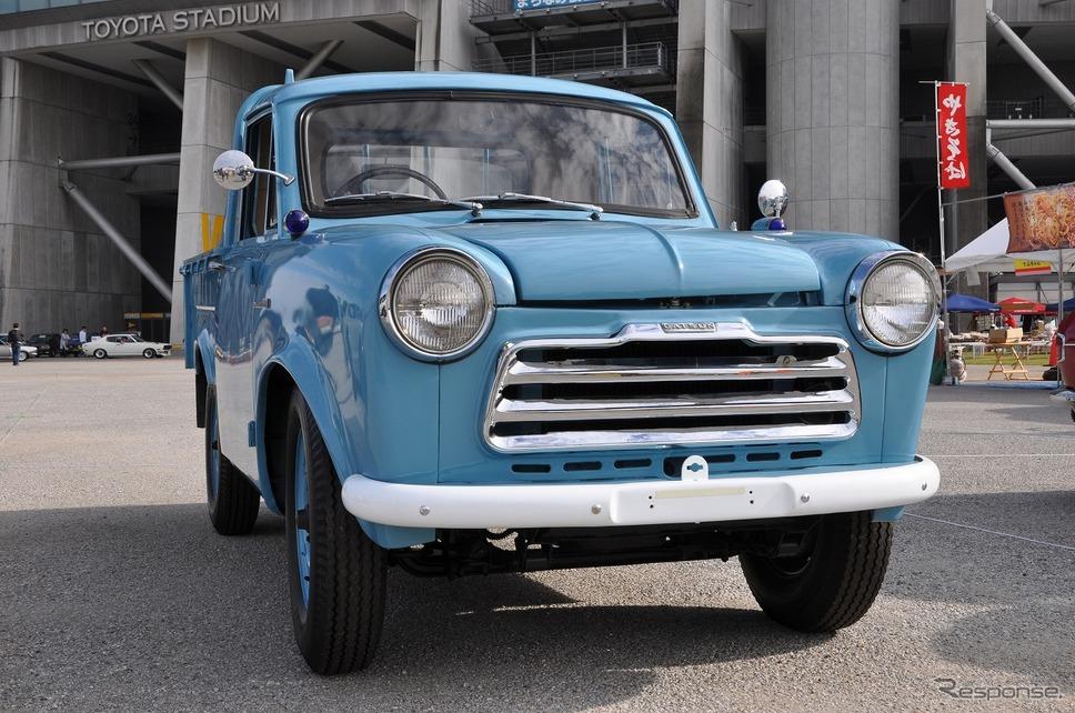 1958年 ダットサン トラック嶽宮 三郎