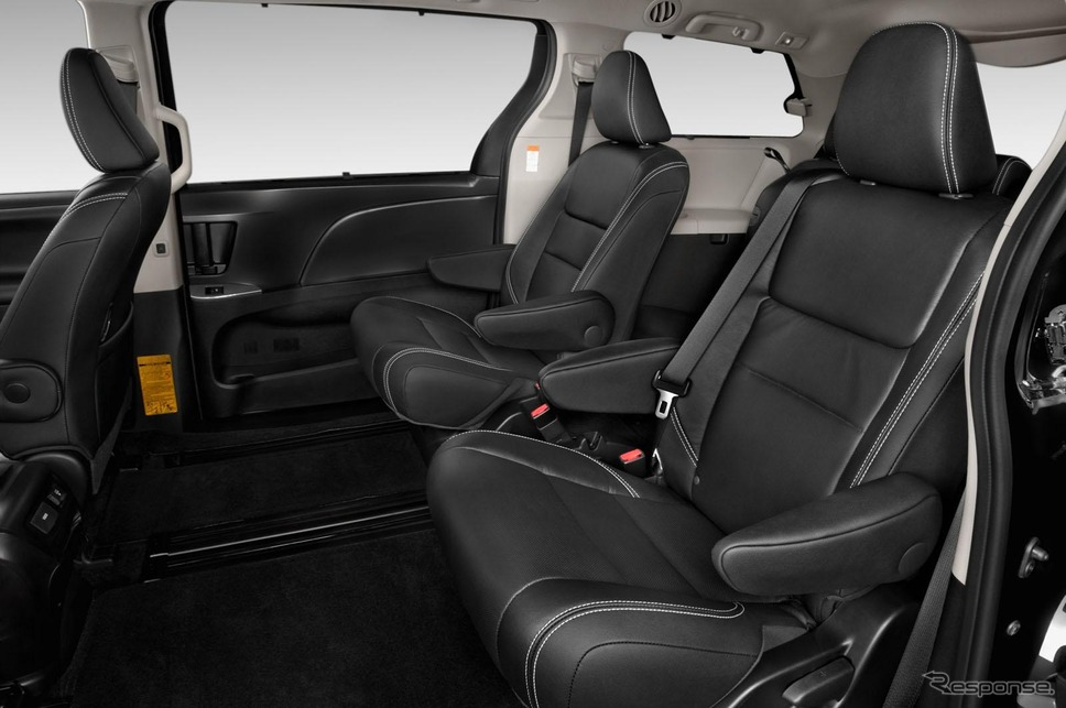 トヨタ シエナ の2015年モデルのSE