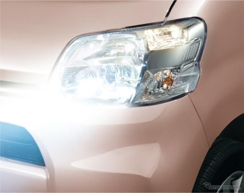 LEDヘッドランプ(ロービーム・オートレベリング機能付)
