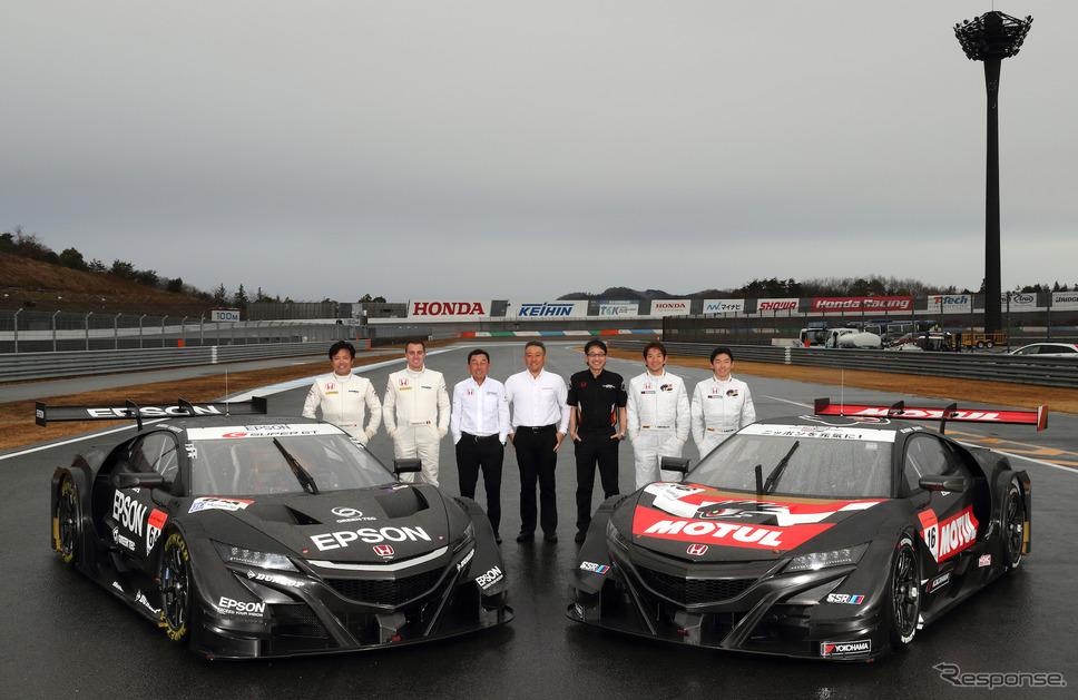 ホンダ勢の2チームが17年体制を早期に発表した。写真:Honda