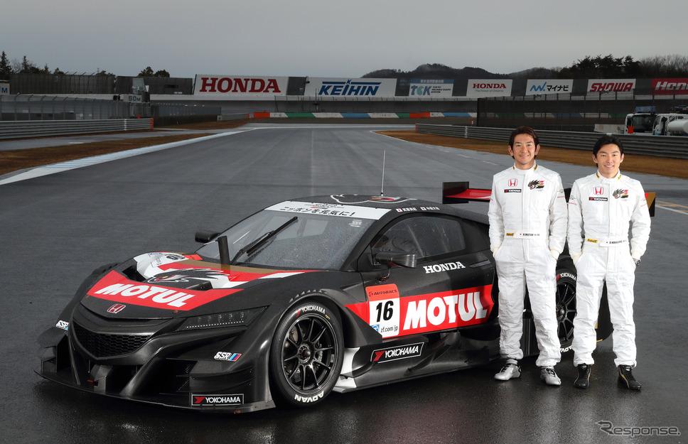 #16 チーム無限(武藤&中嶋)写真:Honda