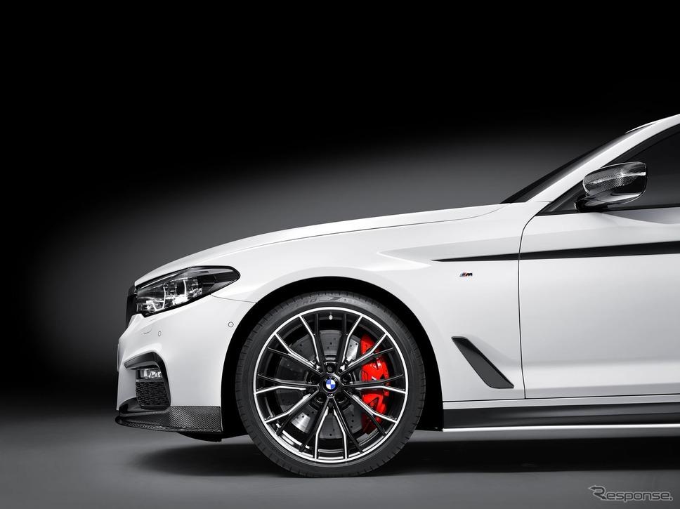 BMW 5シリーズ 新型のMパフォーマンスパーツ