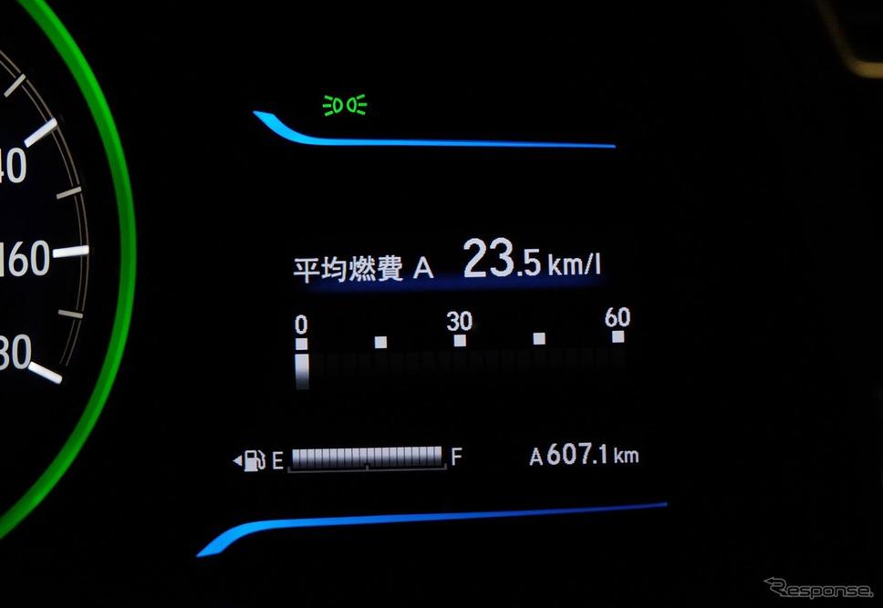 総走行距離607.1kmのドライブ。《撮影 井元康一郎》