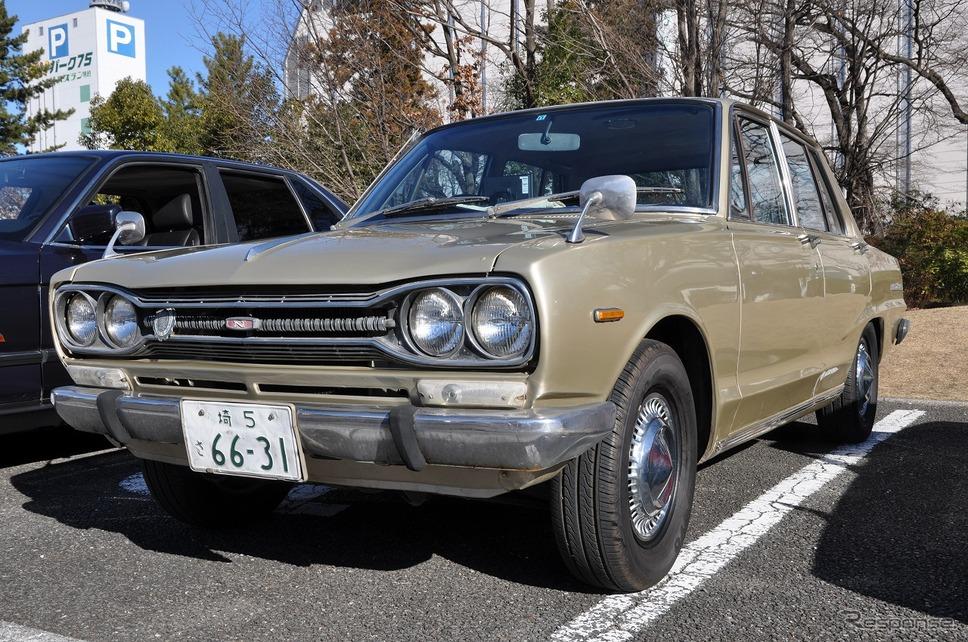 日産 スカイライン1500DX(1969年)嶽宮 三郎
