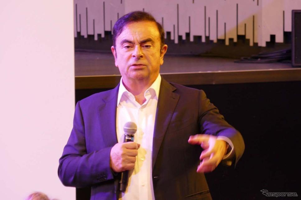 カルロス・ゴーンCEO