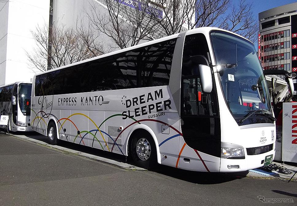 関東バスが保有する「ドリームスリーバー東京大阪号」《撮影 大野雅人(Gazin Airlines)》