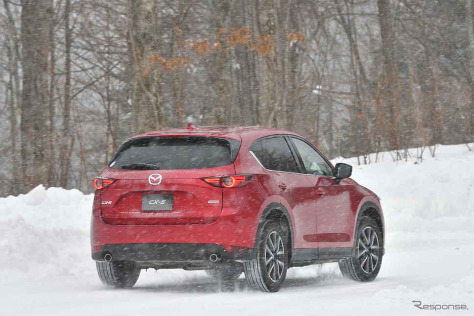 マツダCX-5雪上試乗《撮影 雪岡直樹》