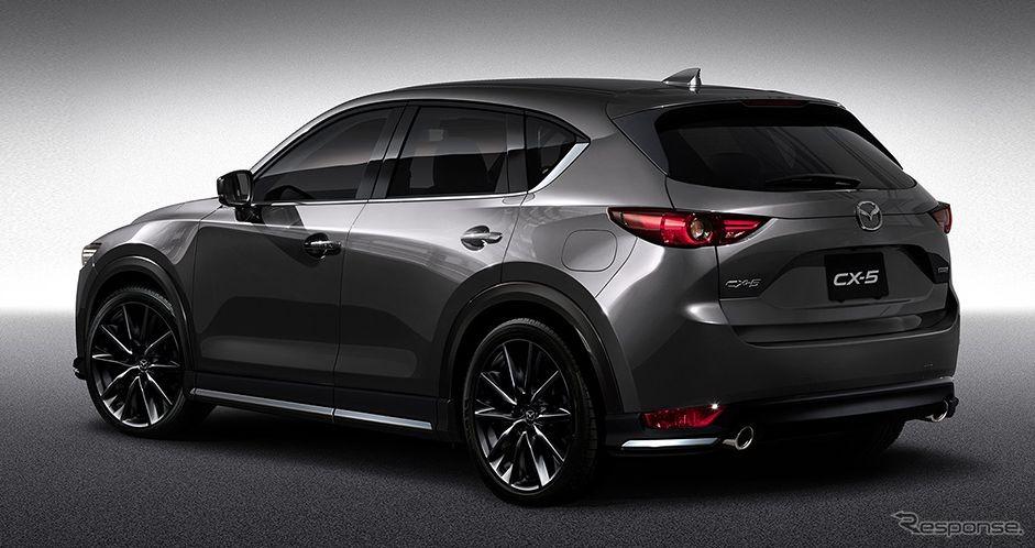 Mazda 3 2017 Custom >> 【東京オートサロン2017】マツダ CX-5 新型、早くもカスタマイズ - e燃費