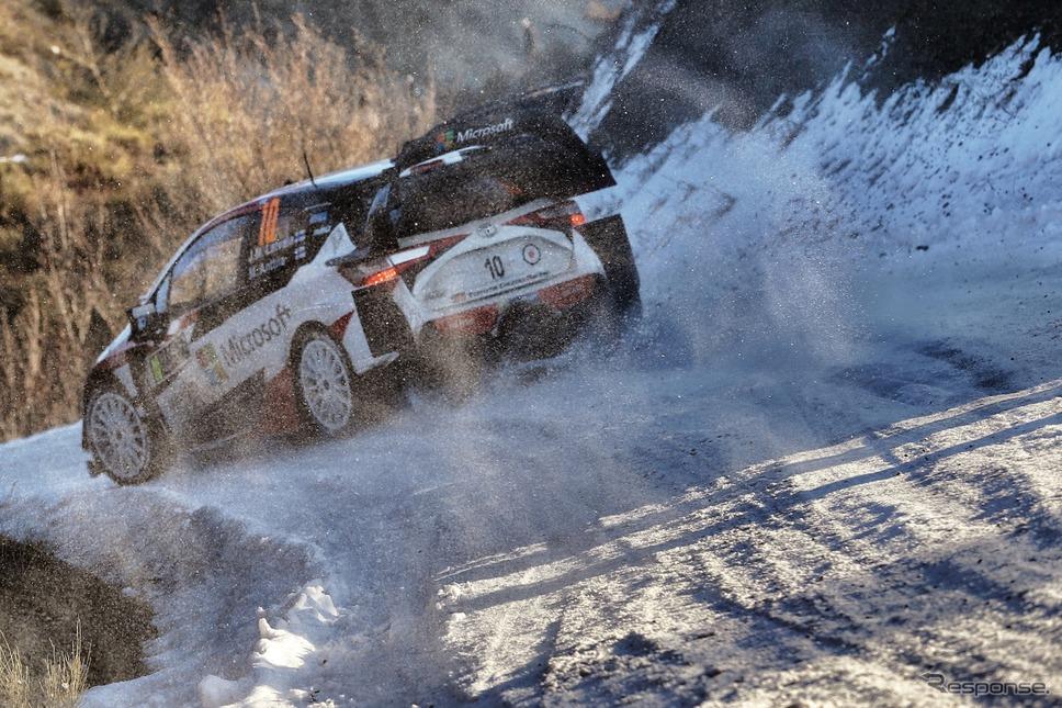ラトバラ / ヤリスWRC #10号車(ラリー・モンテカルロ、デイ3)