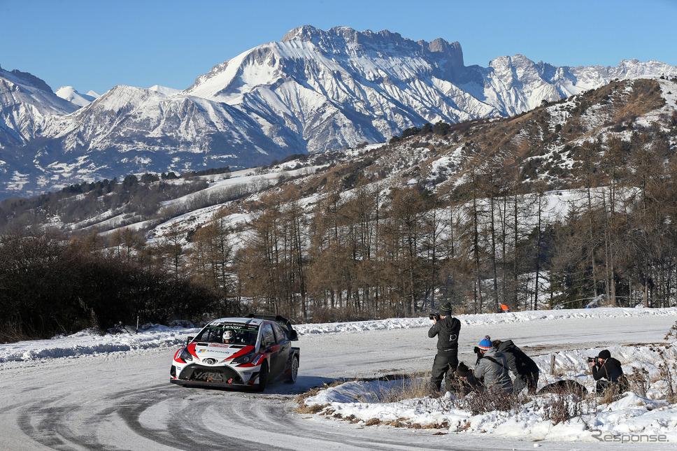 ハンニネン / ヤリスWRC #11号車(ラリー・モンテカルロ、デイ3)