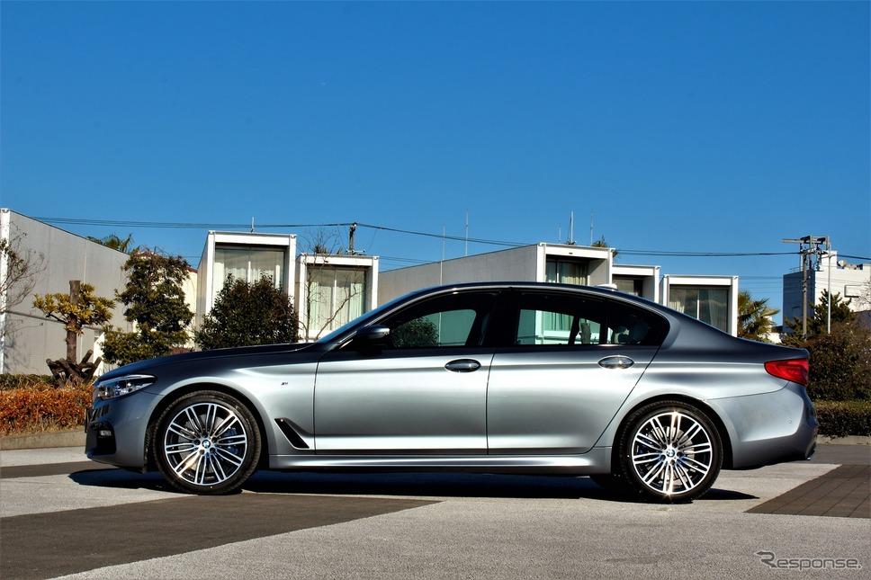 BMW5シリーズ新型《撮影 内田俊一》