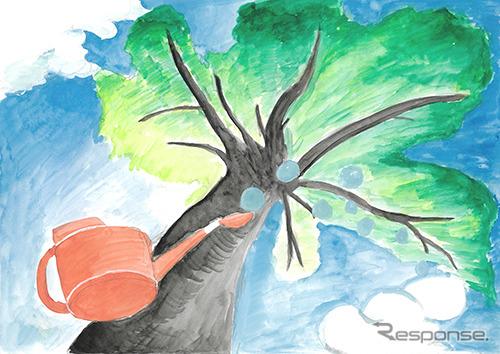 銅賞「こんな木、育ててみたい」鈴木智子さん(6年生)