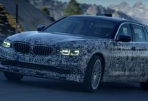 アルピナ、BMW 5シリーズツーリング 新型をベースにしたプロトタイプの写真公開