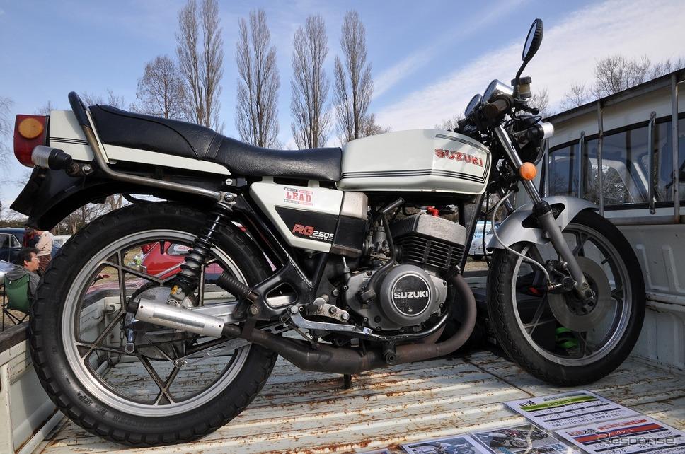 スズキ RG250E 1979年嶽宮 三郎