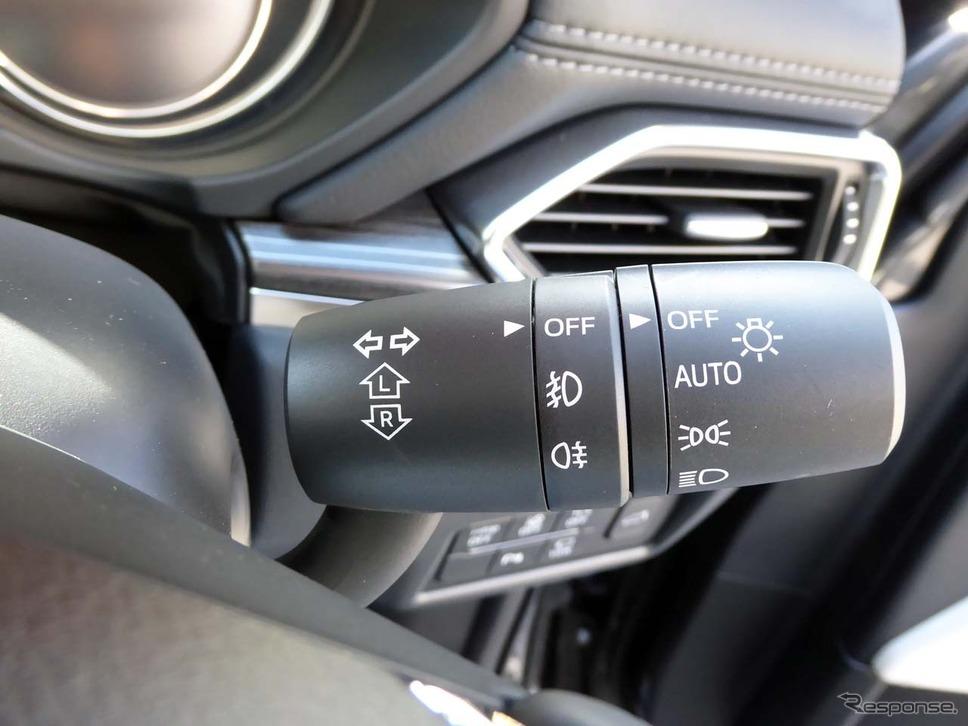 4WDには全車ともリアフォグランプが装備される。写真はフロントフォグも装備する「Lパッケージ」
